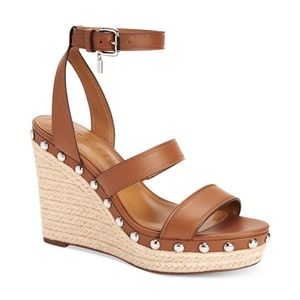 Coach Darcy Strappy Wedge Sandals